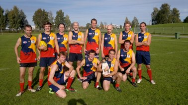 Oslo Crows - Australsk fotball mesters vest Sverige 2011