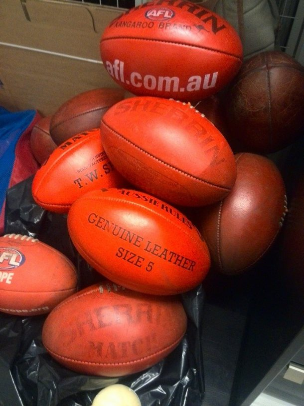 Sherrin footballs